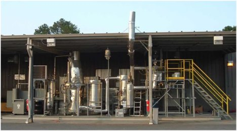 Demonstration steam gasification biorefinery built by EPRIDA (EPRIDA)